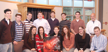 Students of Dallas Yavne highschool
